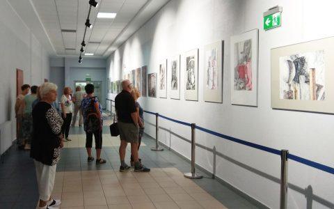 Wystawa warstatowych prac malarskich i rysunowych 1