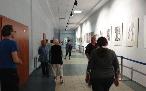 Wystawa warstatowych prac malarskich i rysunowych 2