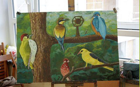 Wystawa warstatowych prac malarskich i rysunowych 3
