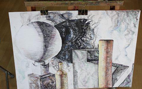 Wystawa warstatowych prac malarskich i rysunowych 5