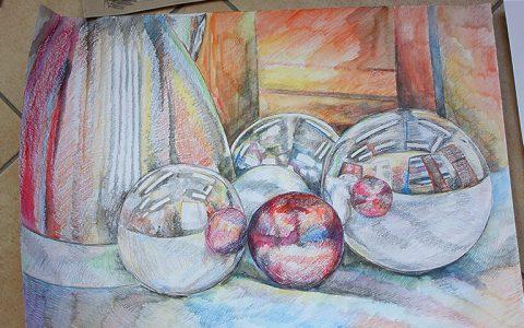 Wystawa warstatowych prac malarskich i rysunowych 6