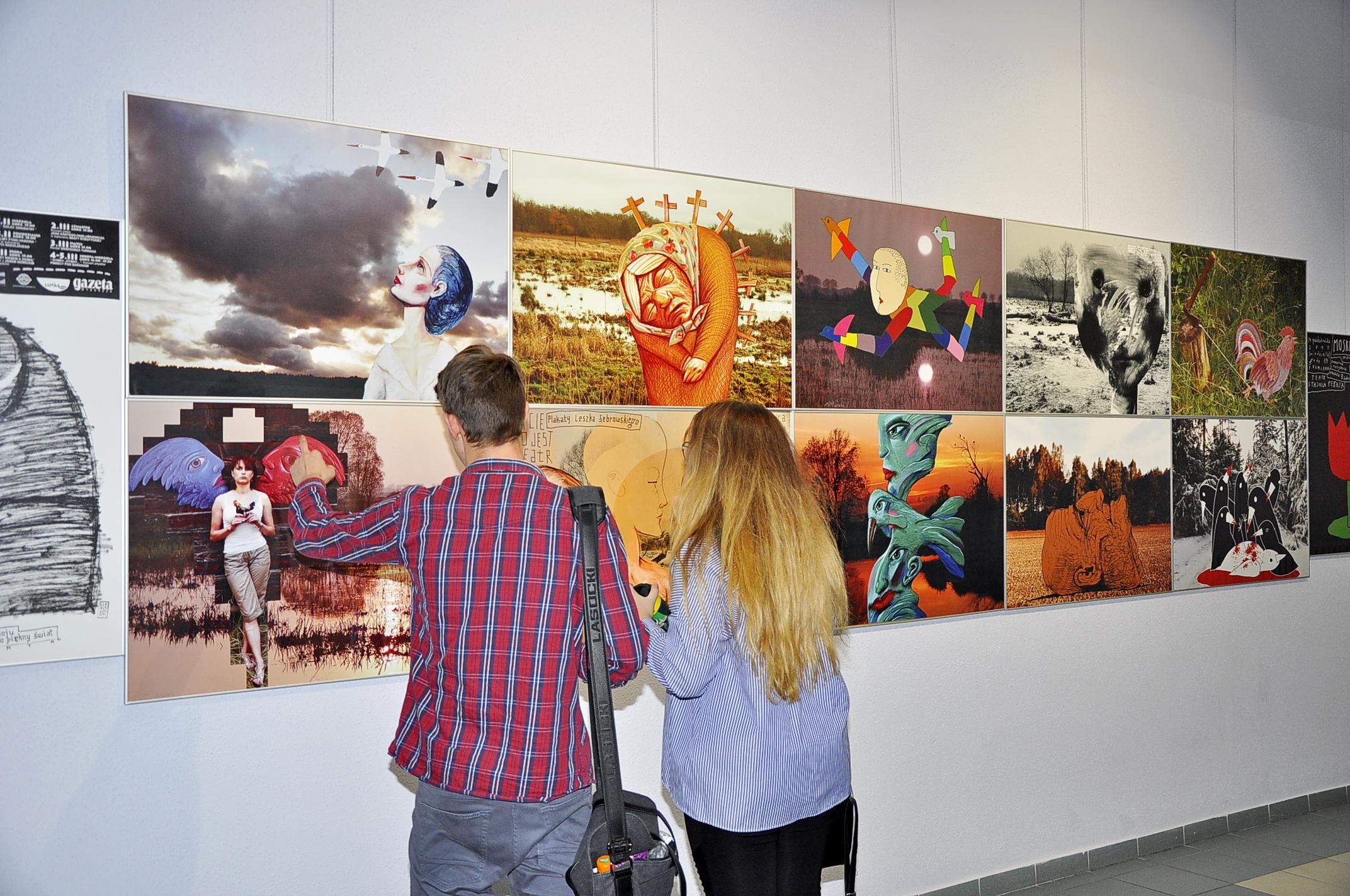 """Wernisaż wystawy """"Żebrowski w pięciu smakach"""" – fotorelacja"""