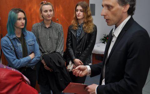 Michał Batory w Galerii Szczecina Humanistycznego 15