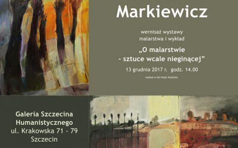 """O sztuce """"wcale nieginącej"""" Wiesławy Markiewicz 13"""